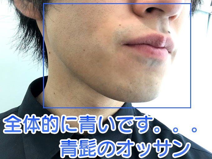 青髭のオッサンのわい