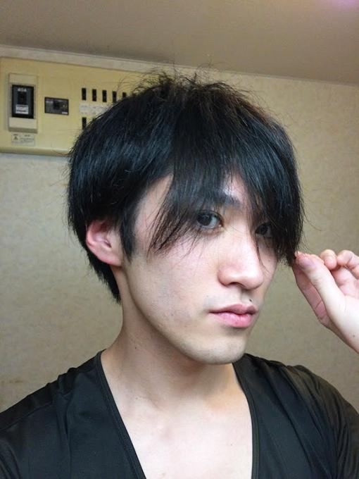 前髪が・・・